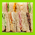 selection of sandwiches