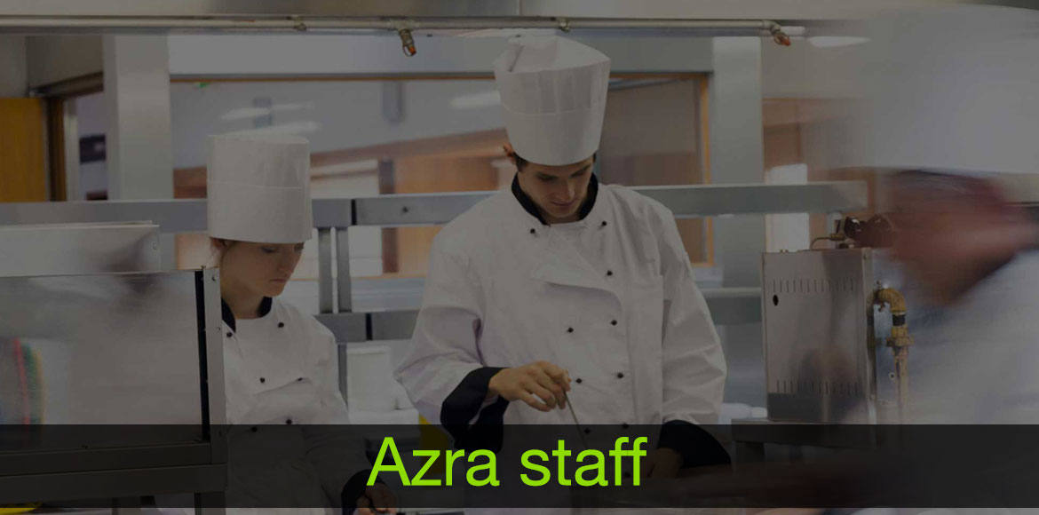 azra staff and chef