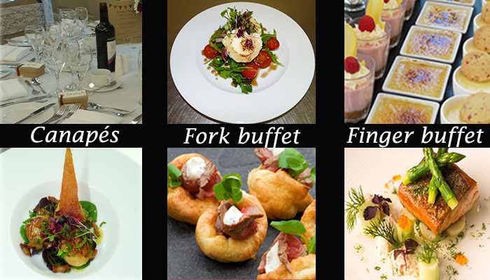selection of catering kent